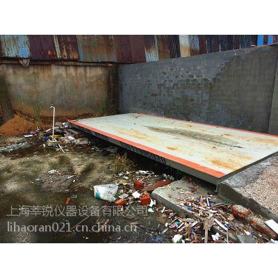 供应铜锣5米小型地磅厂家、10吨花纹板汽车衡维修吴江莘锐小地磅