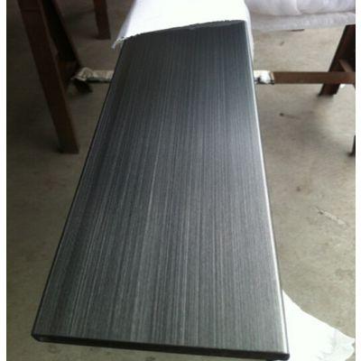珠海304不锈钢方管 拉丝黑钛不锈钢矩形管