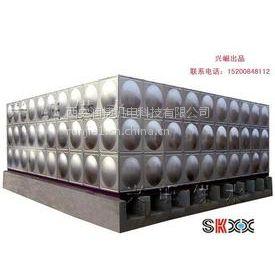 凤县玻璃钢水箱经销商 RV-58凤县消防水箱 润捷水箱