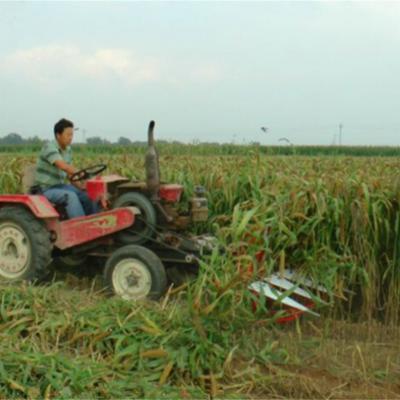 新款热销玉米小麦割晒机 圣通手扶式茴香牧草收割机 柴油大马力甜叶菊艾草收割机