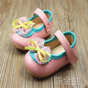 2014秋季韩版宝宝鞋 气质公主鞋婴儿鞋小童学步鞋 女童凉鞋批发