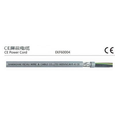 供应CE屏蔽护套线 H05VVC4V5-K 符合ROHS环保标准 CE认证