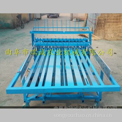 RC-1M 厂家专业制作编织机 养殖厂专用 全自动大棚草帘机