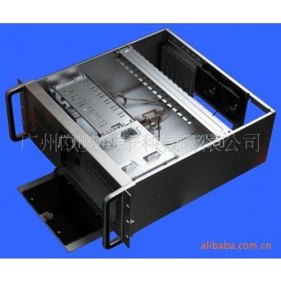 供应4U工控机箱 1.2MM材料 黑色、银色、工业白色可选 标准ATX结构