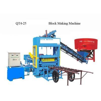 混凝土空心砖制造生产线 BT-QT4-25—混凝土砌块砖