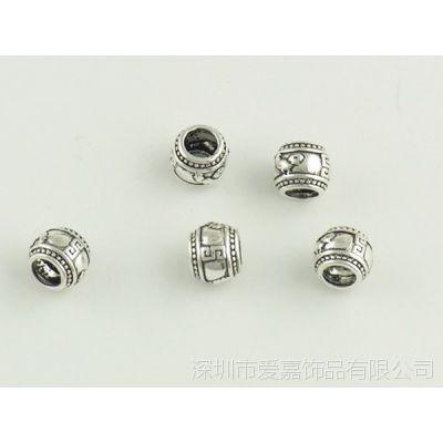 DIY弯管配件加工生产批发 珠宝首饰来图来样加工定制工厂纯银珠子
