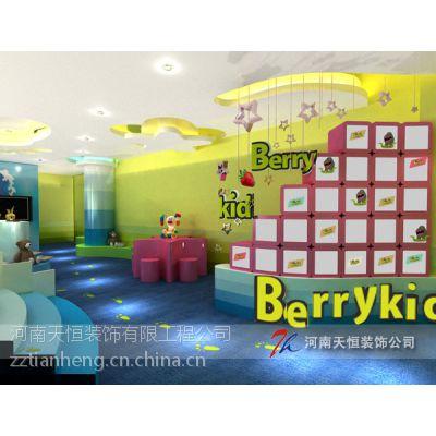 郑州亲子中心装修设计公司 早教中心装修设计