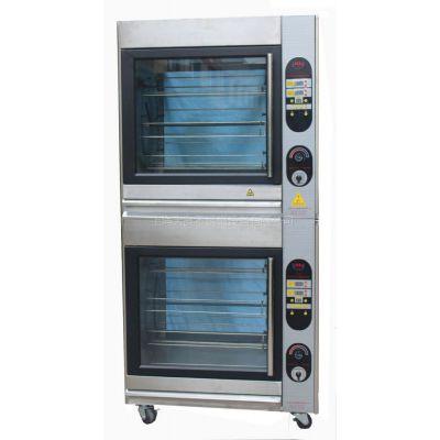 供应热旋风旋转烤鸡炉-触摸面版 电烤炉  旋风烤箱 烤鸡炉 烤禽炉