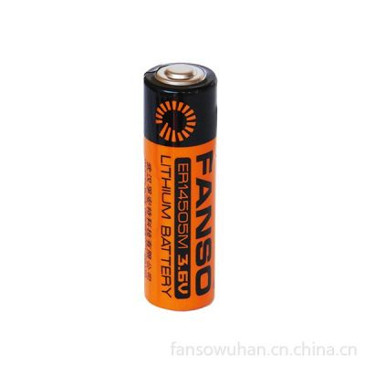 供应孚安特 ER14505M 3.6V 2200mAh 一次性锂电池 智能仪器仪表锂电池