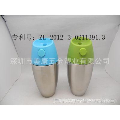 高级定制 内外304 18/8不锈钢保温杯 真空保温水壶 时尚水樽