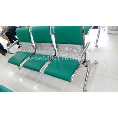 农行绿排椅-客户等候椅