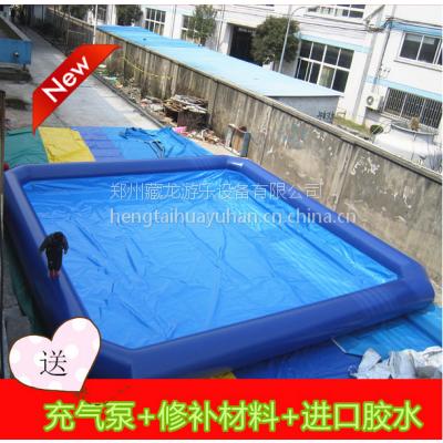 厂家专业定做充气水池游乐水池 大型加厚材料充气水池 充气游泳池厂子