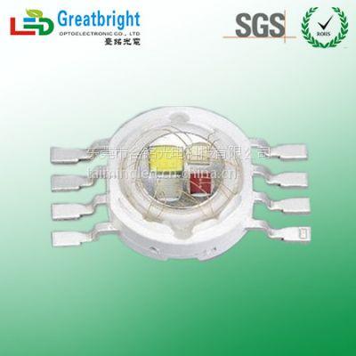 台湾台铭光电3W四色RGBW大功率全彩LED选择Greatbright臺銘光電