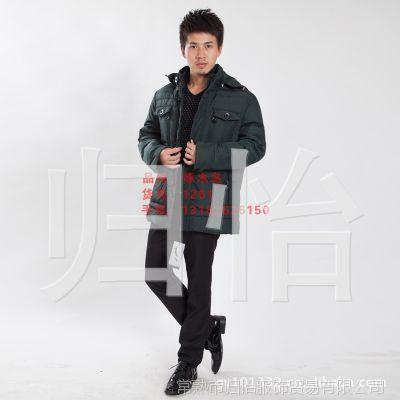 啄木鸟1261 男士新款羽绒服 厂家新款促销批发 常熟羽绒服市场