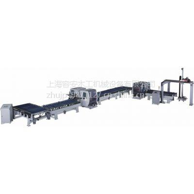 实木地板开槽机、强化地板双端铣、亚克力清边机、电路板清边双端铣连线、江苏自动化设备厂家供应