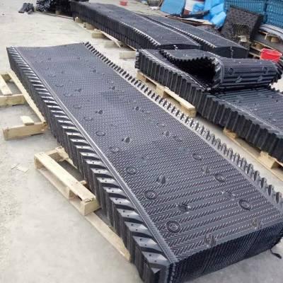 马利冷却塔915mm宽 PVC散热片斜角填料 Mary专用淋水片喷头 河北华强