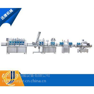 淄博玻璃水灌装线、迅捷玻璃水灌装线、高效率玻璃水灌装线