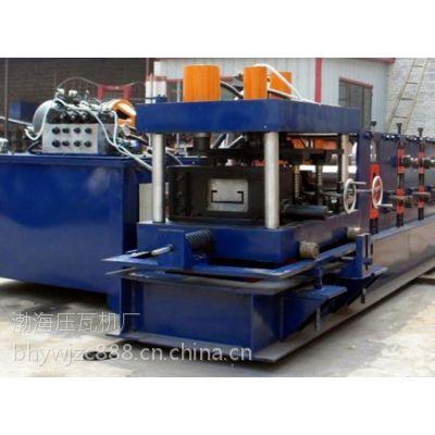 渤海液压C型钢机提高生产效率液压动力系统部件均采用国内名牌产品,动力源外置便于维修、操作。