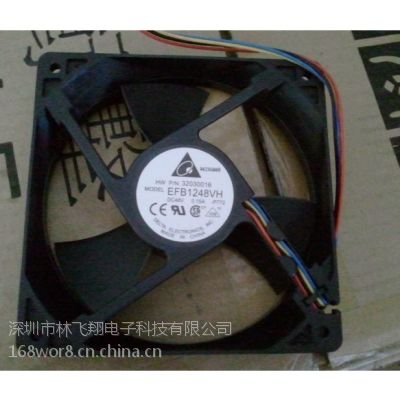 全新台达DELTA EFB1248VH 12025 48V 0.15A F00变频器 散热风扇