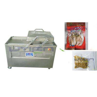 供应干货海鲜、电子元件、休闲食品真空包装机,双室真空包装机DZ-500/2S