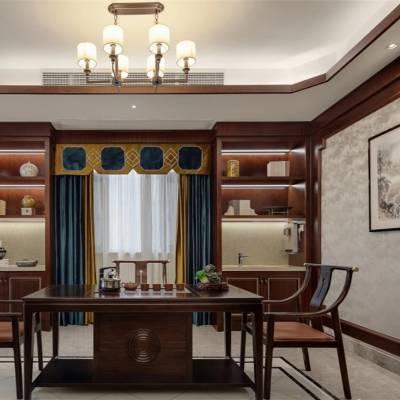 长沙整房定制家具商家直销原木电视柜定做细节处理