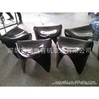 专业设计有机玻璃象棋桌椅 办公资料收纳架 有机玻璃制品