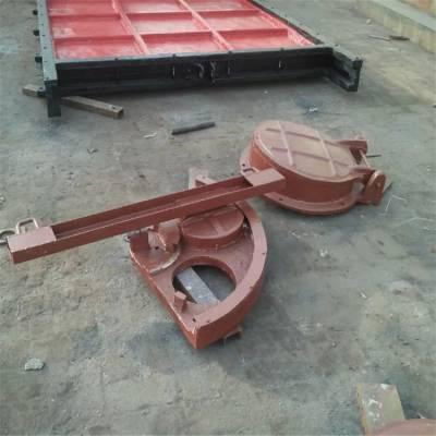 300孔径双向转动闸门/转动门盖/铸铁镶铜闸门水库放水专用