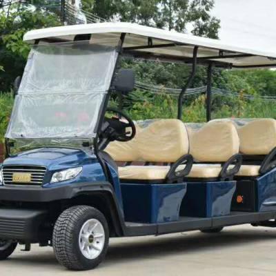 EXCAR电动高尔夫观光车11座EXCAR品牌产品进口配置