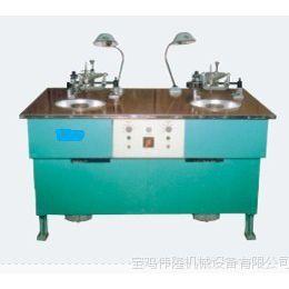 厂家直销玻璃及石英晶体研磨用之WL28180-2型二轴抛光研磨机