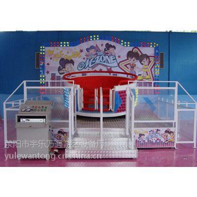 儿童迪斯科转盘,室内小型游乐设备,迷你型游乐设施