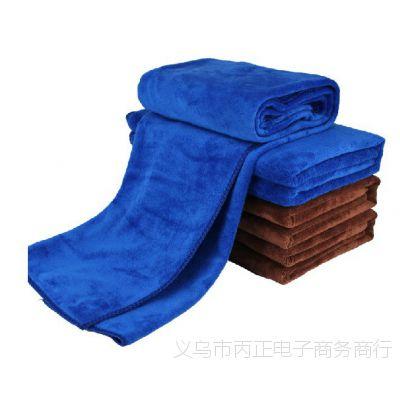 60*160大号擦车毛巾 超细加厚超柔洗车毛巾 加厚磨绒毛巾清洁毛巾