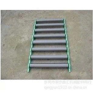 供应厂家直销流水线输送配件 货柜PVC滚筒 折叠式输送滚筒梯 滚轴