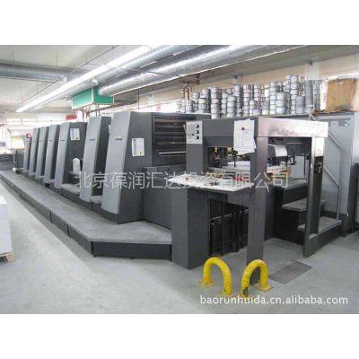 供应进口2006年海德堡6色4开胶印机 CD 74 - 6P3+LX 型