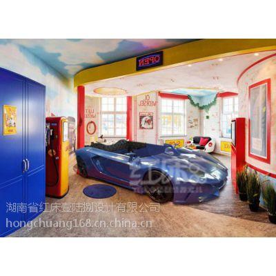红床壹陆捌厂家直销 宾馆电动床 情趣床 水床 圆床 主题酒店仿真车型床
