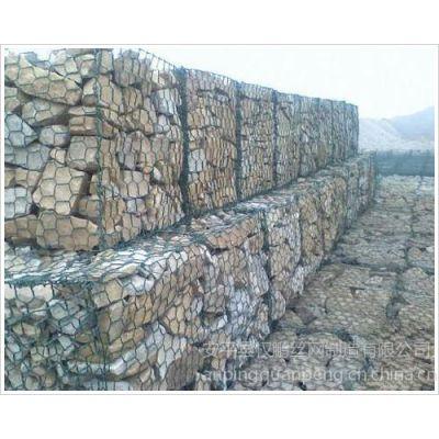 供应石笼网边坡防护网雷诺护垫石笼网箱拧花六角网