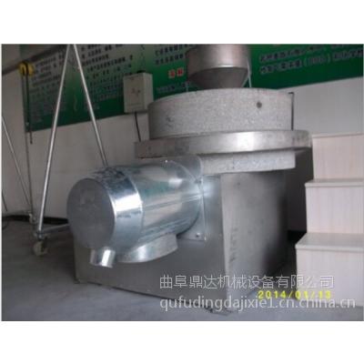 半自动石磨面粉机 小型半自动面粉石磨机 生产厂家鼎达