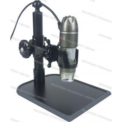 工厂直销 brightwell 中性 500倍 USB 数码显微镜 手持式数码显微镜