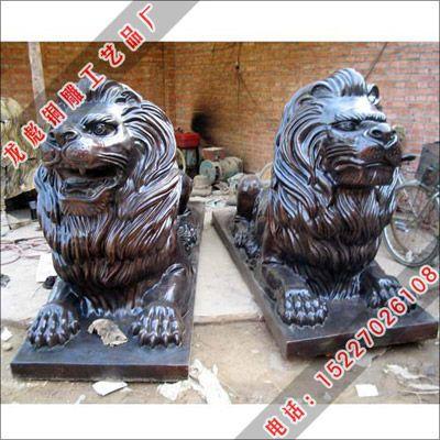 供应温馨动物雕塑_铸铜动物雕刻-龙彪铜雕