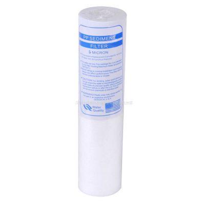 供应净水器配件 10寸pp棉滤芯  pp熔喷滤芯  水处理滤芯 滤芯厂家批发