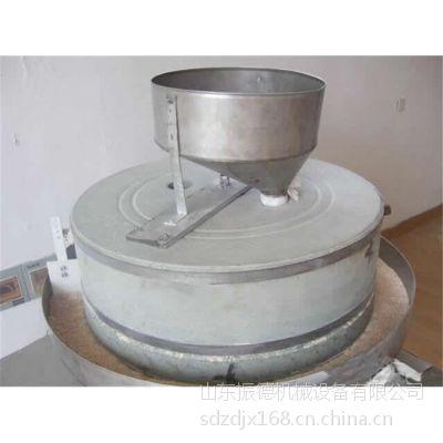 批发五谷杂粮电动石磨机 小型面粉电动石磨机 振德牌