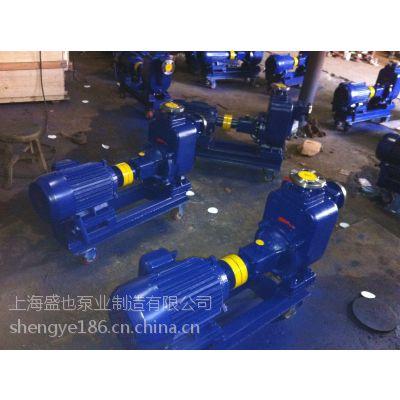 ZW100-100-15 自吸排污泵批发,上海盛也排污自吸泵