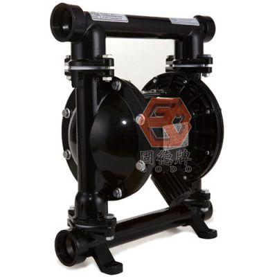 供应青岛成都边锋固德牌第三代气动隔膜泵QBY3-40GJDD 铸钢材质污水污泥输送泵 防爆