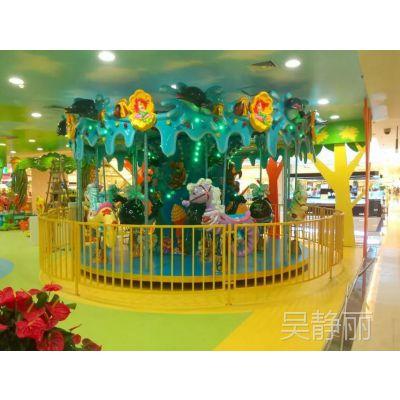 豪华旋转木马 儿童电动娱乐设备 深圳市旋转木马生产厂家