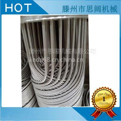 螺旋缠绕管式换热器、双相钢、钛材、化工厂用冷凝器
