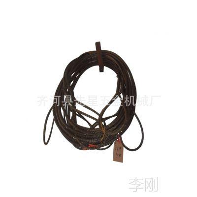 12mm直径x10m插编索扣钢丝绳