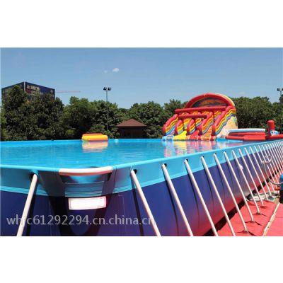 北京五环精诚户外大型支架移动游泳池水上乐园 家庭公园游乐场成人儿童支架游泳池