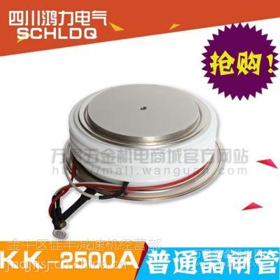 四川可控硅 普通晶闸管KK2500A/2500V 专业技术提供