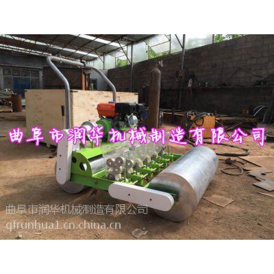 花卉药材种植机 润华自走式播种机
