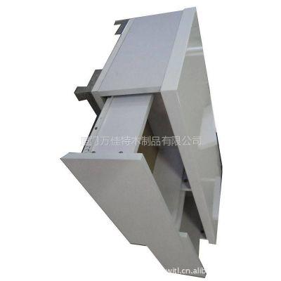 供应精品展示柜、木质底柜、银亮光表面处理、按需定制