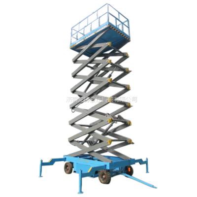 扶余县升降机什么品牌性价比高 四轮移动式液压升降台新品上市 图片展示